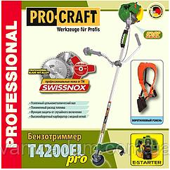 Бензокоса ProCraft T-4200EL PRO (Электростартер)