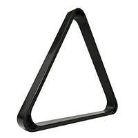 Треугольник бильярдный пластмассовый, для шаров 68-70 мм.