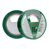 Изоляционная лента 10 м зеленая ПВХ Orbita