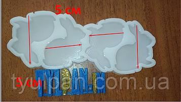 2D Форма силиконовая форма молд для изомальта леденцов карамели шоколада зайки кролики молд пасхальный