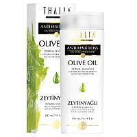 Безсульфатный шампунь для поврежденных волос с оливковым маслом THALIA, 300 мл