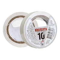 Изоляционная лента 10 м белая ПВХ Orbita