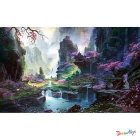 """Алмазна мозаїка """"Квітучий каньйон"""", 30*40 см, з рамкою, в кор. 41*31*2,5 см"""
