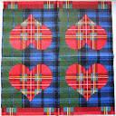 Салфетка для декупажа. Шотландское сердце