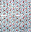 Салфетка для декупажа. Мелкие цветочки, 21х21 см