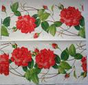 Салфетка для декупажа. Плетистая роза, 33х33 см