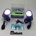 Передня велосипедна фара + сигнал Robesbon USB, фото 4