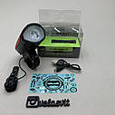 Передня велосипедна фара + сигнал Robesbon USB, фото 5