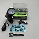 Передняя велосипедная фара + сигнал Robesbon USB, фото 5