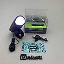 Передняя велосипедная фара + сигнал Robesbon USB, фото 6