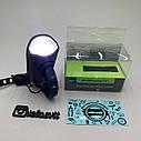 Передня велосипедна фара + сигнал Robesbon USB, фото 8