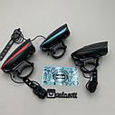 Передняя велосипедная фара + сигнал Robesbon USB, фото 2