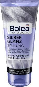 Профессиональный бальзам  Восстановление и Увлажнение для седих волос  Balea Silber Glanz Spulung  200 мл