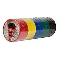 Изоляционная лента 10 м ассортимент цветов ПВХ Orbita