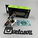 """Задній велосипедний ліхтар LED-мигалка """"Поліція"""" USB., фото 4"""