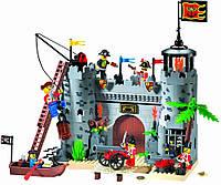 Необычайные приключения с конструктором Brick 310 Пиратская башня, для детей от 8 лет, 362 детали