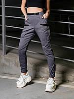 Жіночі карго штани BEZET Lagerta grey'21, фото 1