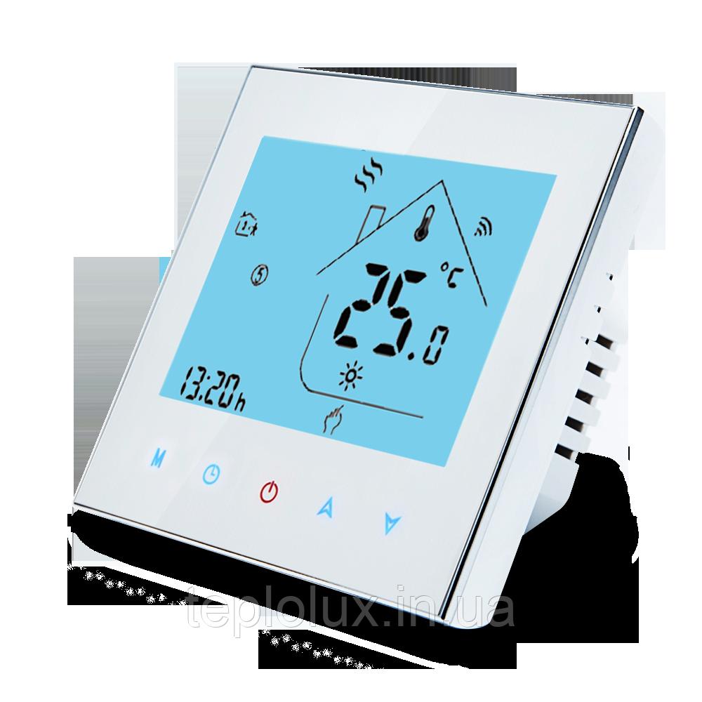 Терморегулятор программируемый для теплого пола Ecoset-605 с датчиком температуры 3м