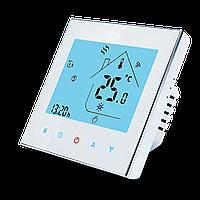 Терморегулятор программируемый для теплого пола Ecoset-605 с датчиком температуры 3м, фото 1