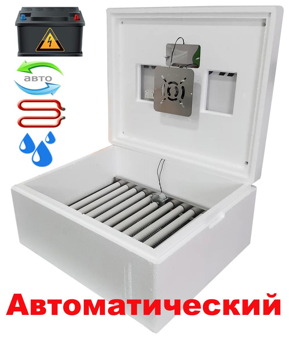 Інкубатор автоматичний Несучка М 76 експортний варіант з 12 вольта харчуванням