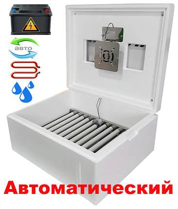 Інкубатор автоматичний Несучка М 76 експортний варіант з 12 вольта харчуванням, фото 2