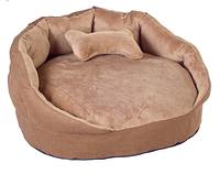 """Лежак """"Буше 1"""",  56х56х26см для собак и кошек"""