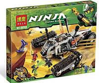 Детский конструктор NINJA 9788 Сверхзвуковой самолет, 621 дет