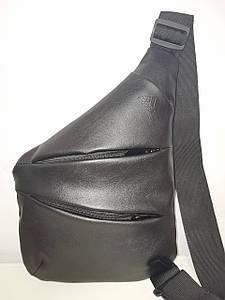 Барсетка слинг на грудь adidas искусств. кожа Унисекс/Cумка спортивные для через плечо(ОПТ)