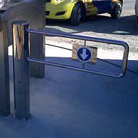 Турникет-калитка TiSO Gate-TS (полированная нержавеющая сталь — Зеркальная)