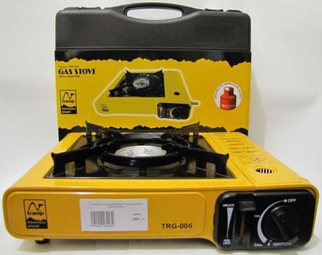 Портативная газовая плита с переходником под большой баллон Tramp TRG-006 , фото 2