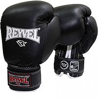 Боксёрские перчатки Reyvel винил Черный 12 Oz