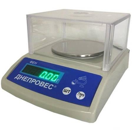 Лабораторные весы Днепровес ФЕН-Л (600 г), фото 2
