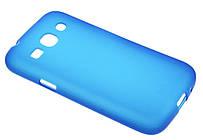 Чехол Mobiking Silicon Case Samsung G350 Blue накладка силиконовая