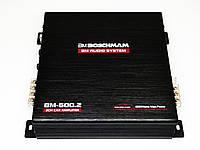 Усилитель звука 4000W Бошман 2-х канальный автоусилитель підсилювач звуку в машину автомобильный BM Boschmann