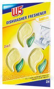 Средство для удаления жира и запаха в посудомоечных машинах  W5  2 in1 Dishwasher cleaner