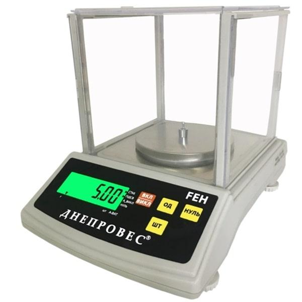 Лабораторні ваги Днепровес FEH (600 г)