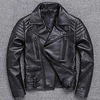Чоловіча шкіряна куртка-косуха. (5111), фото 1