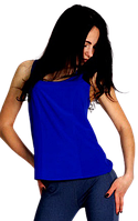 Топ Tasani 511 размер 48 синяя