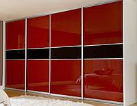 Раздвижные двери с цветным стеклом глянец, фото 1