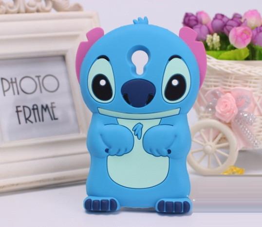 """Meizu M2 mini 5.0"""" оригинальный противоударный TPU 3D чехол бампер для телефона """"ЛИЛО и СТИЧЬ STICH"""""""