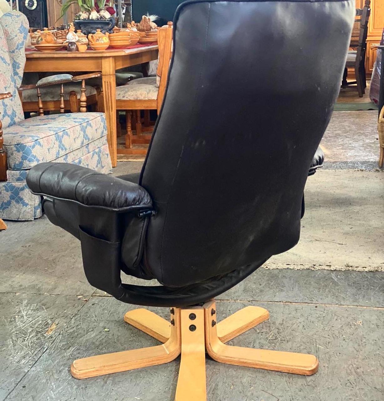 """Шкіряне крісло для офісу з Німеччини «Моріс"""""""