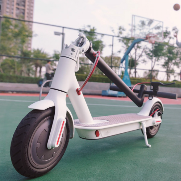 Електросамокат Xiaomi Mi Electric Scooter M365 + APP (MiniRobot) White Аналог ГАРАНТІЯ