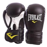Перчатки боксерские Everlast MA-5018 6 oz (Черный)