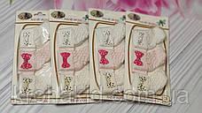 Набор носочков для новорожденного на планшетке (Турция)  - 3 шт / носочки для самых маленьких, фото 2