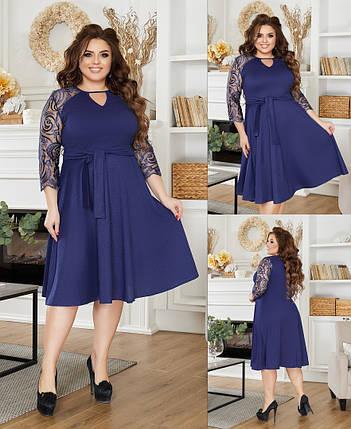 Женское платье большого размера 3247 (ЮЭ), фото 2