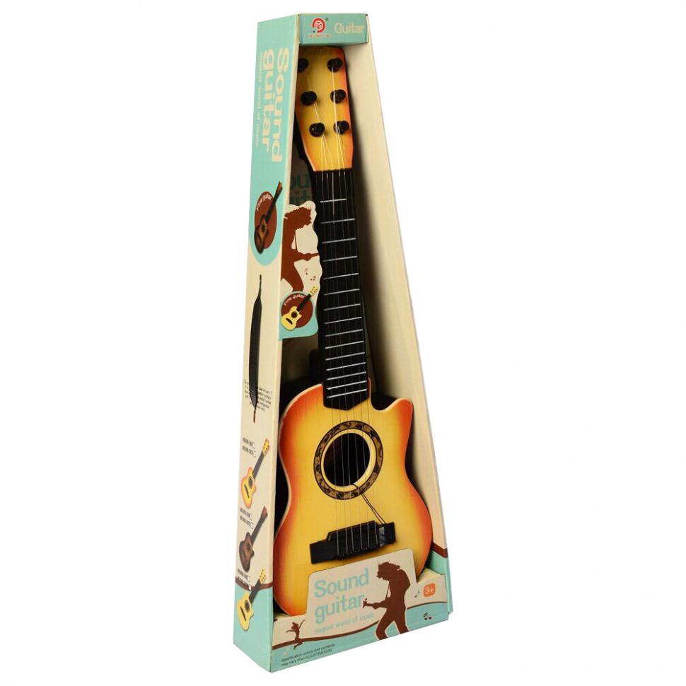 Гитара 898-28ABC 6 струн, медиатор (Молочный)