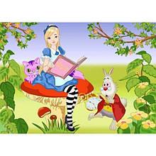 """Розпис по полотну """"Мрії Аліси 25*35 див. 7133/3"""