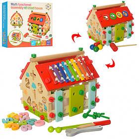 Дерев'яна іграшка розвиваючий Центр MD 2087