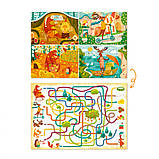 """Пазл і гра Mon Puzzle """"Обсерваційний. Як звірі пори року зустрічали"""" 200110, фото 4"""