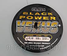 Леска BALSAX Black PowerVexus  0.18 mm